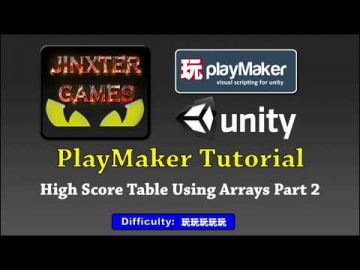 Playmaker Highscore Table Using Arrays Part 2