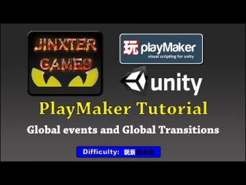 PlayMaker Global events and Global Transitions
