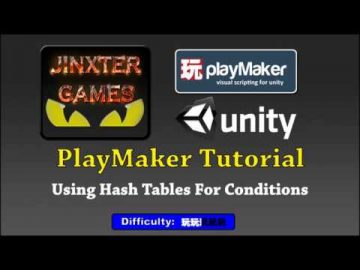Unity Playmaker : Hash Table Conditions